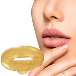 Bad Bones Java Treatments & Masks Gold Crystal Collagen Lip Mask 10 Pack