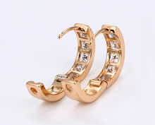 18k gold ladies earring designed, earrings
