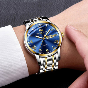 730 Quartz Stainless Steel Wrist Watch  Men's Diver