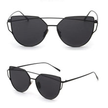 RS Glasses Store Sunglasses 7 Cat Eye Mirrored Sunglasses