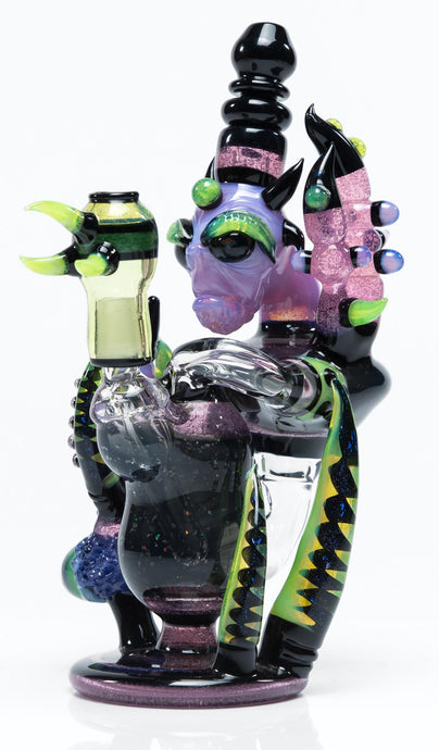 THORNED HEADY ILLUMINATTED ALIEN RECYCLER RIG