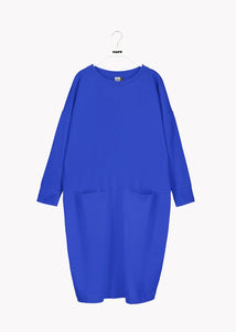GIANT SPLIT DRESS, Vivid Blue, Adults