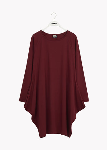 KANTO DRESS, Deep Red, Women