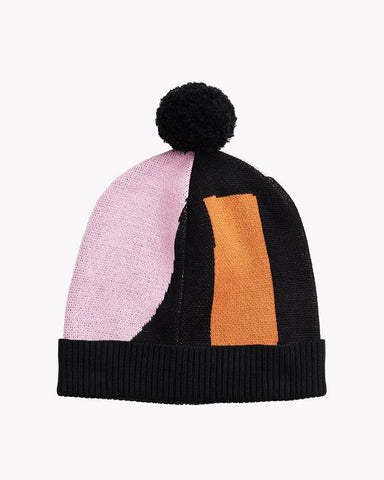 KNIT POM POM BEANIE, Travel