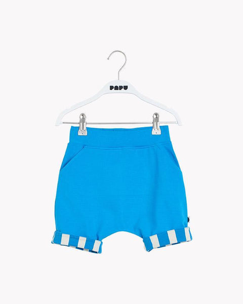 POCKET SHORTS, Sky Blue/Paris Stripe