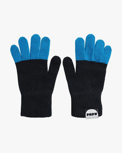 SPLIT GLOVES, Urban Blue/Black