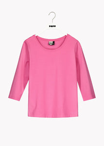3/4 SLEEVE SHIRT, Gentle Pink, Women
