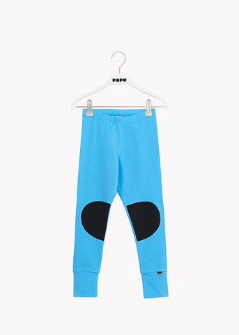 PATCH LEGGINGS, Whitened Blue/Black