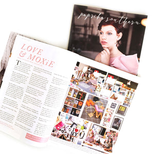 LOVE & MOXiE Featured in Paprika Southern Magazine!