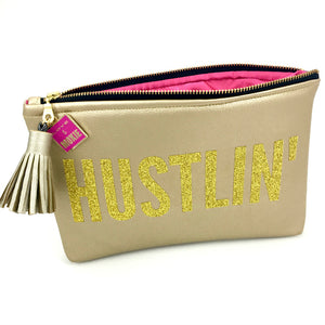 hustlin bag vegan leather by love & moxie