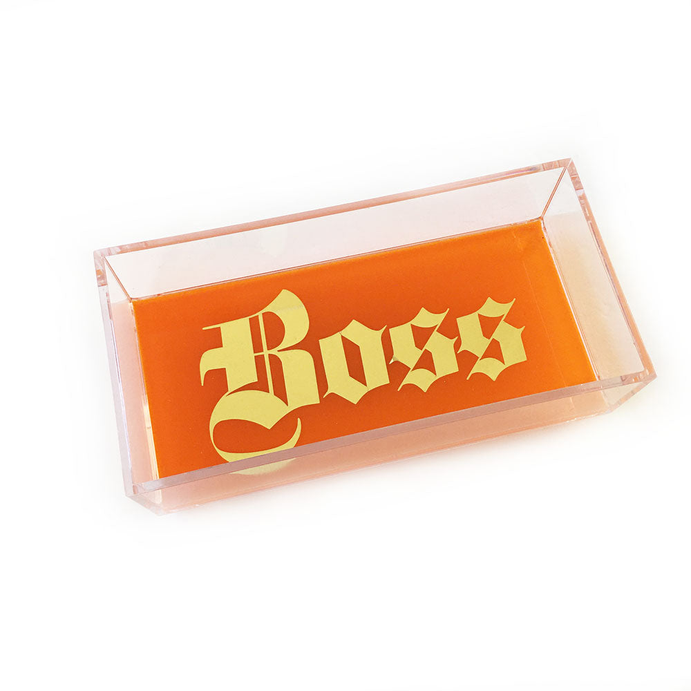 Orange Boss Catchall