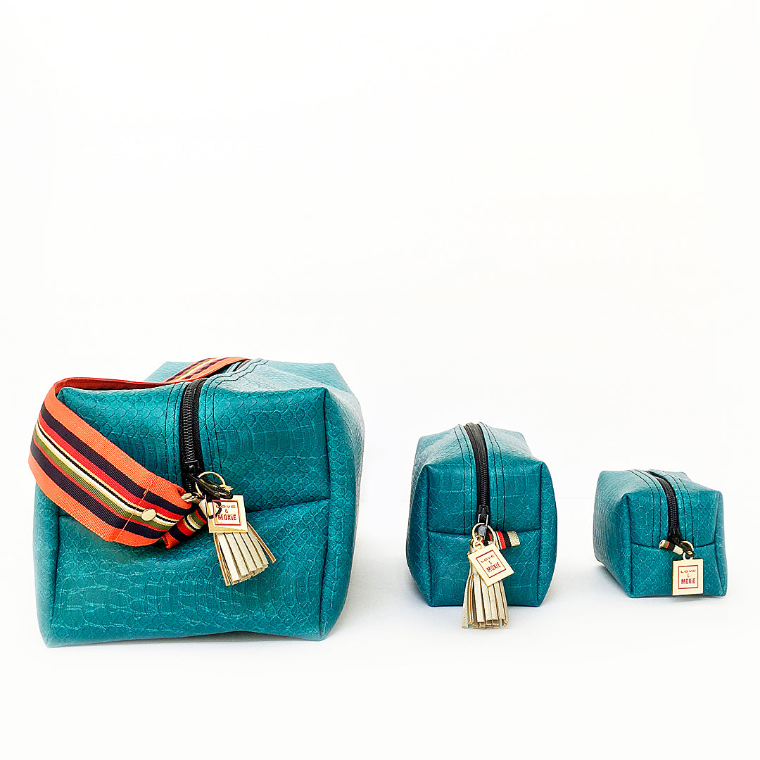 blue boxy bag small medium and large