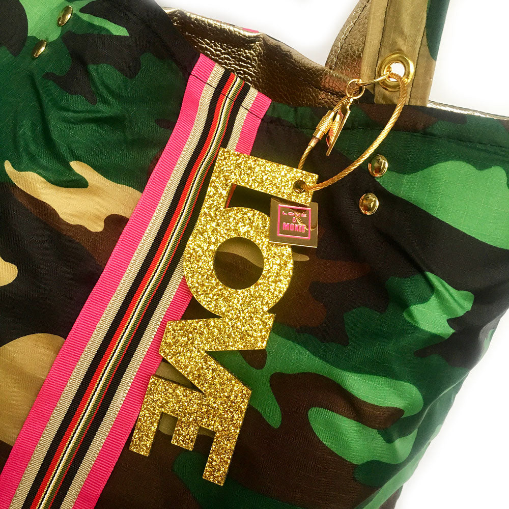 LOVE Acrylic Bag Charm & Key Chain
