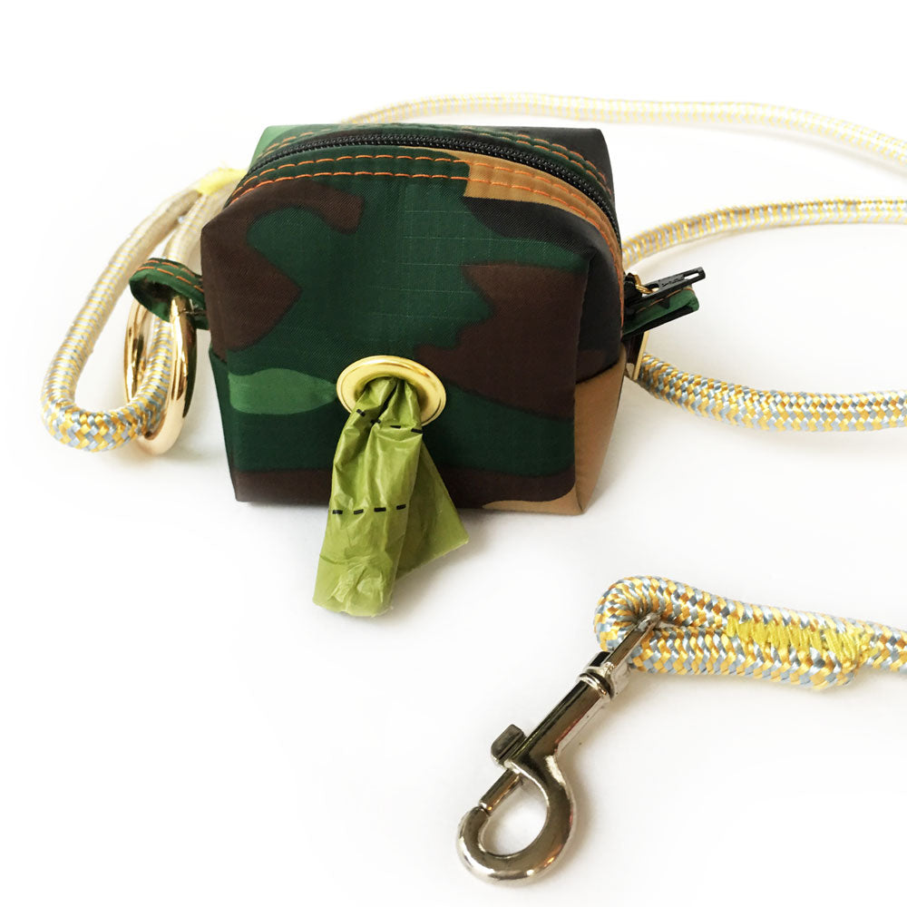 Washington Camo Doggie Waste Bag Holder