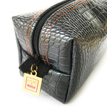 Chesterfield Gray Crocodile Mighty Mini Bag