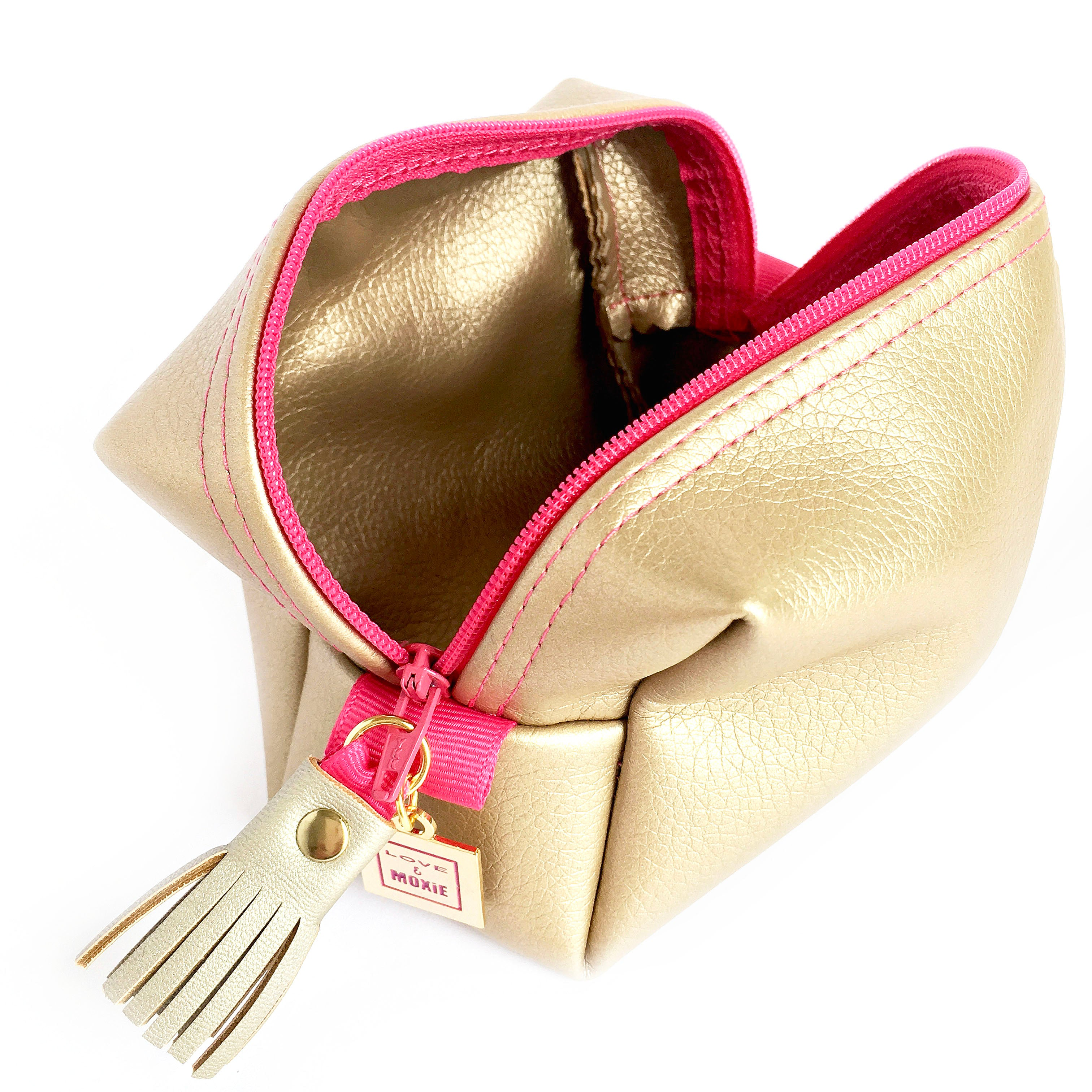 Ainsley Gold & Pink Mighty Mini Bag