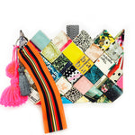 Magazine Origami Clutch Bag