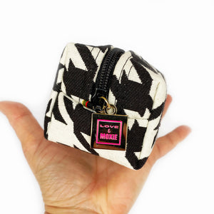 Oxford Houndstooth Mini Mini Clip-on Bag