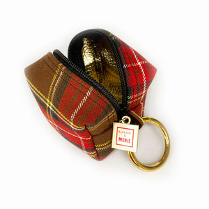 Princeton Plaid Mini Mini Clip-on Bag
