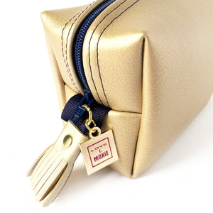 Ainsley Gold & Blue Mighty Mini Bag