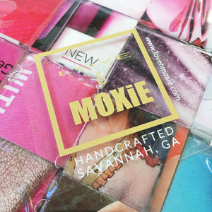 Pink Origami Magazine Resin Tray