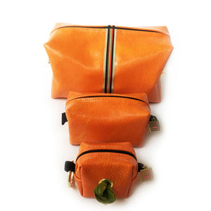 Prescott Orange Doggie Waste Bag Holder