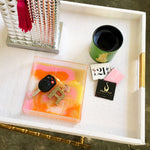Quant Hand Poured Resin Marbled Tray