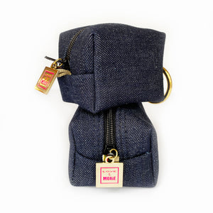 Stanford Denim Mini Mini Clip-on Bag