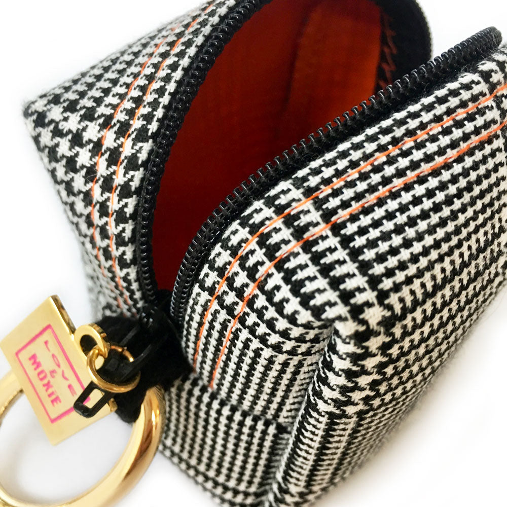 Watson Plaid Mini Mini Clip-on Bag