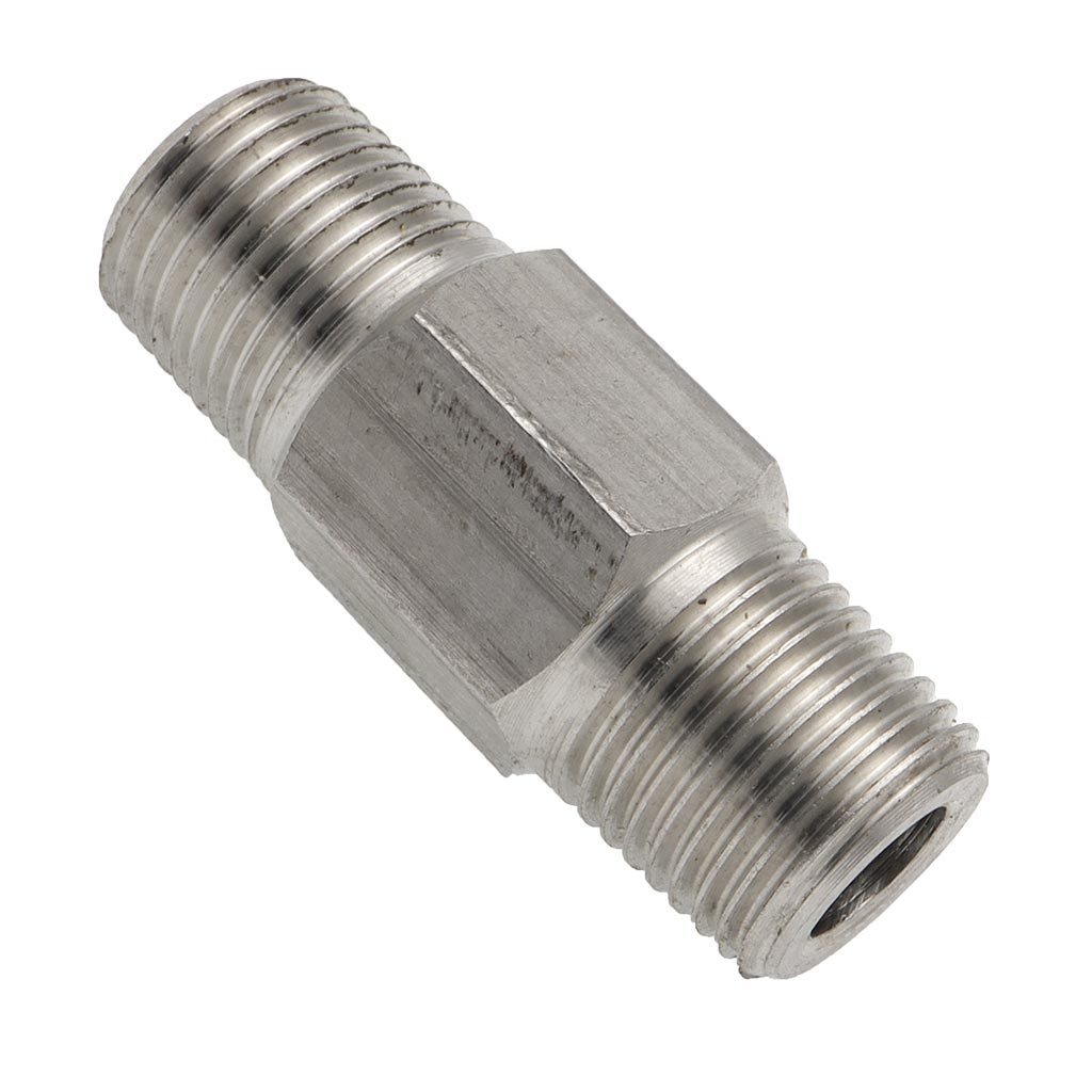"1/8"" NPT to 1/8"" NPT Coupling (male to male)"