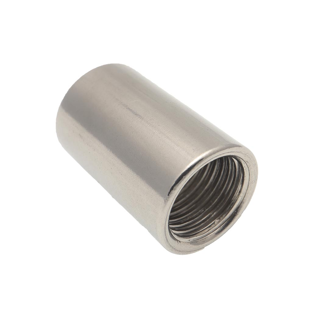 1/4 INCH BSP STAINLESS INTERNAL THREADED PIPE SOCKET