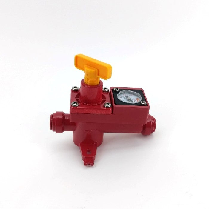 DUOTIGHT - BLOWTIE 2 SPUNDING VALVE / PRESSURE RELIEF WITH INTEGRATED GAUGE 0-15PSI