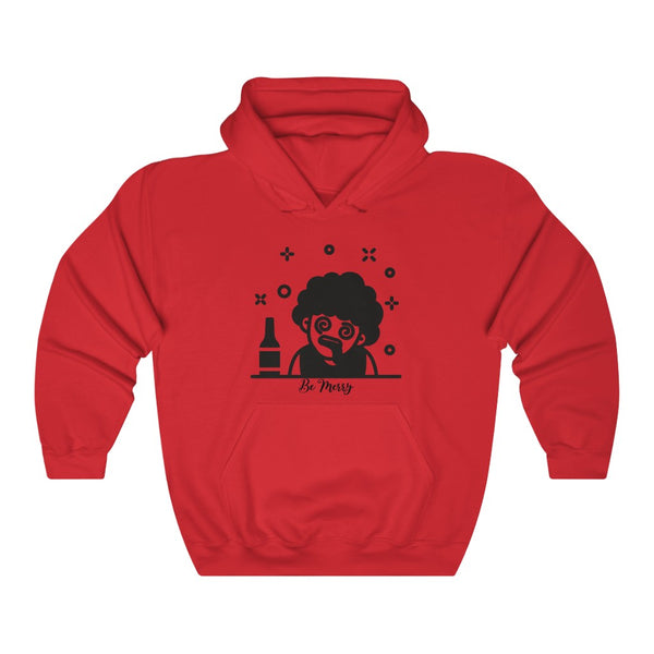 Be Merry Hooded Sweatshirt