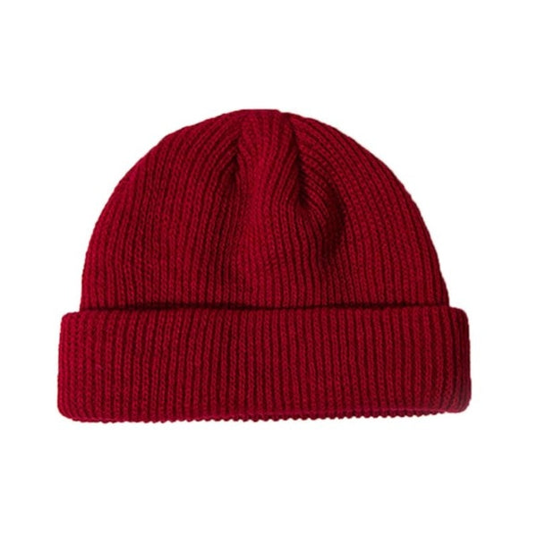 Knitted Cuffed Skullcap