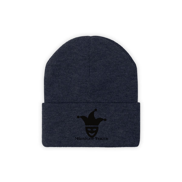 Midnight Toker Knit Beanie (Embroidered)