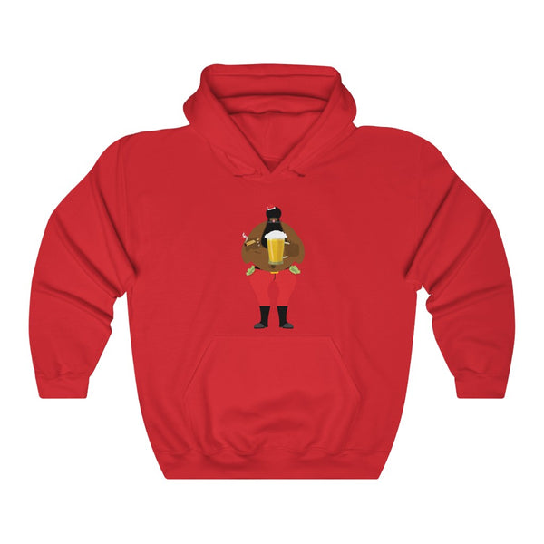 BADA$$ SANTA Hooded Sweatshirt