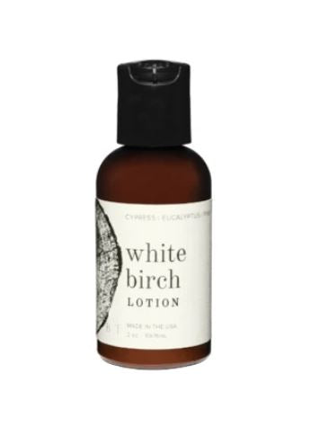 White Birch Travel Lotion