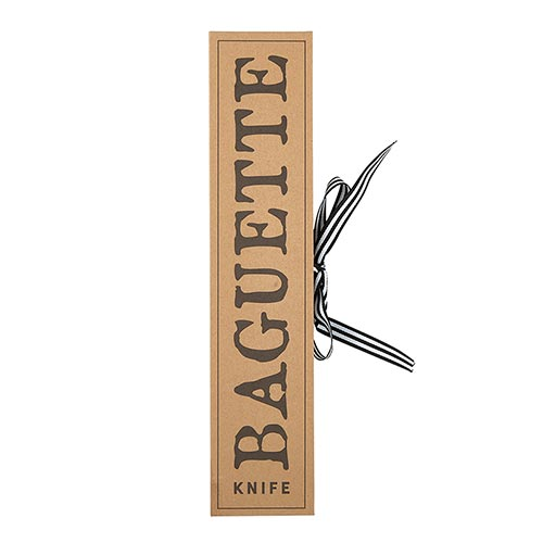 Cardboard Book Set - Baguette Knife
