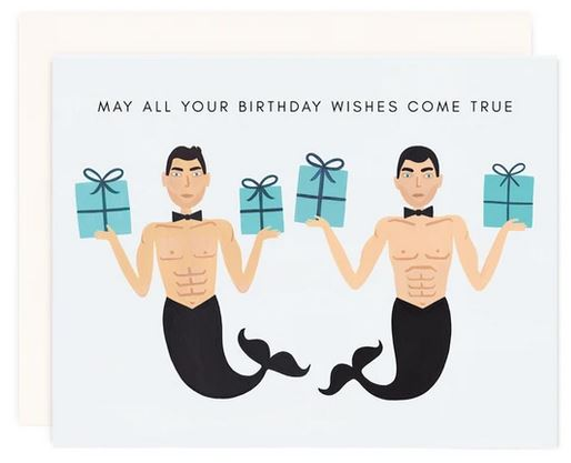 Mermen Birthday Wishes