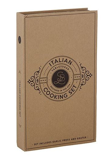 Cardboard Book Set - Italian Cooking
