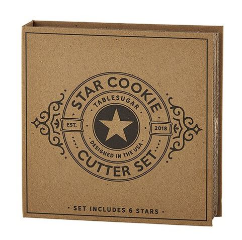 Cardboard Book Set - Star Cookie Cutter Set
