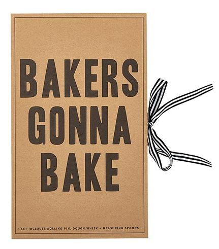 Cardboard Book Set - Baking Set