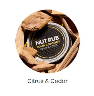 Nut Rub - Cedar & Citrus