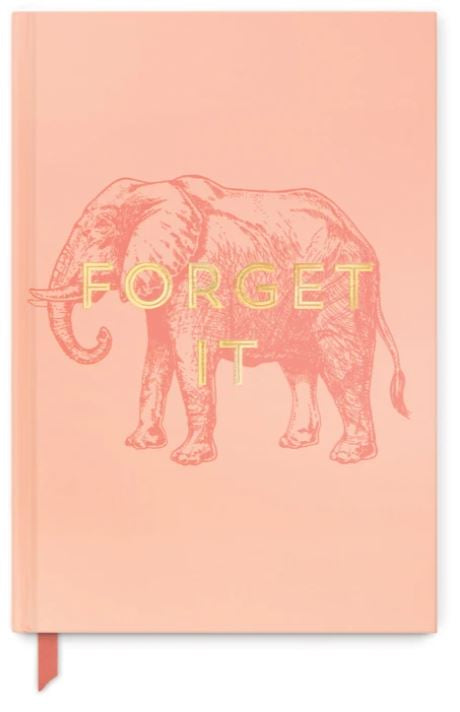 "Vintage Sass Journal | ""Forget It"""