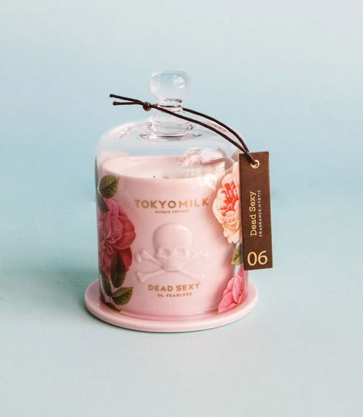 TOKYOMILK Dead Sexy Ceramic Candle with Cloche | Fearless