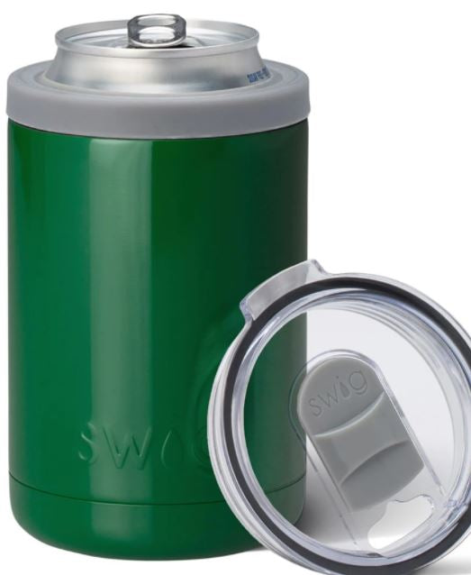 Green Combo Can & Bottle Cooler (12oz Cans & Bottles)
