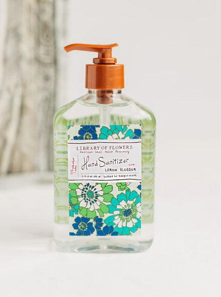 Library of Flowers Lemon Blossom Hand Sanitizer Gel