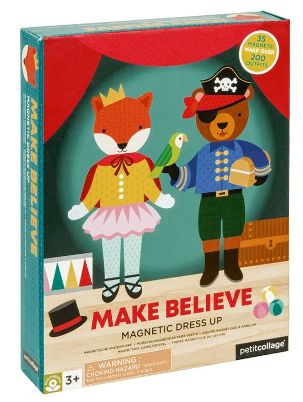 Make Believe Magnetic Dress Up Play Set