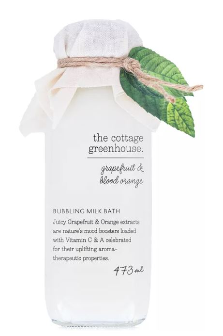 The Cottage Greenhouse Grapefruit & Blood Orange Milk Bath