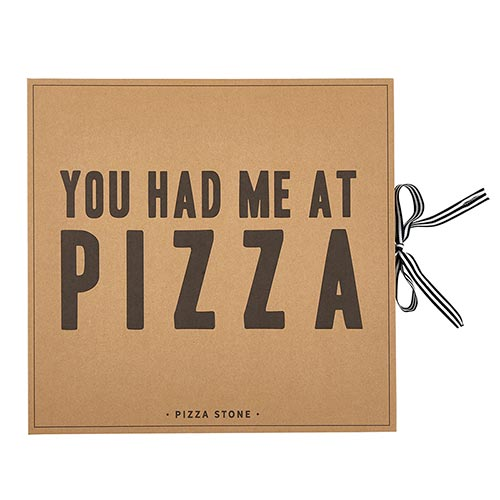 Cardboard Book Set - Pizza Stone